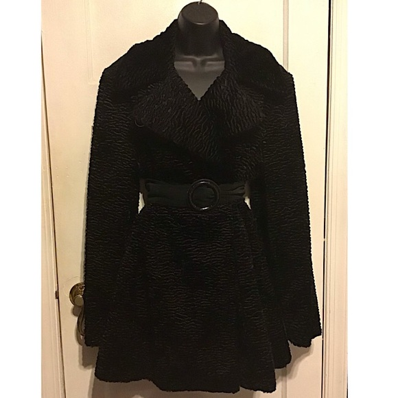 Platinum Jackets & Blazers - Platinum Faux Fur Coat